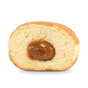Пончик с вареной сгущенкой 1