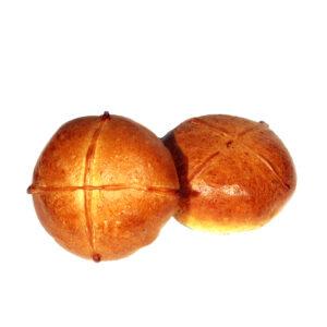 Пирожок с Абрикосом и Вишней 75гр.