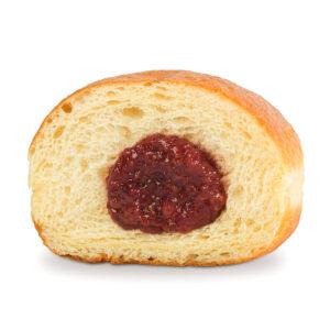 Пончик с клубникой 1