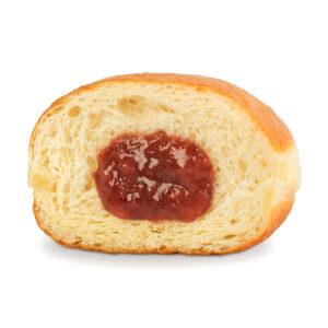 Пончик с малиновым джемом 1