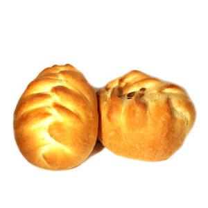Постный пирожок с картофелем и луком 75гр.